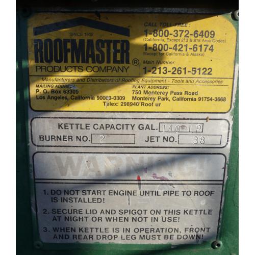 Gel Tar Roofing Kettles 140 Gal Roofmaster Hot Tar Kettle